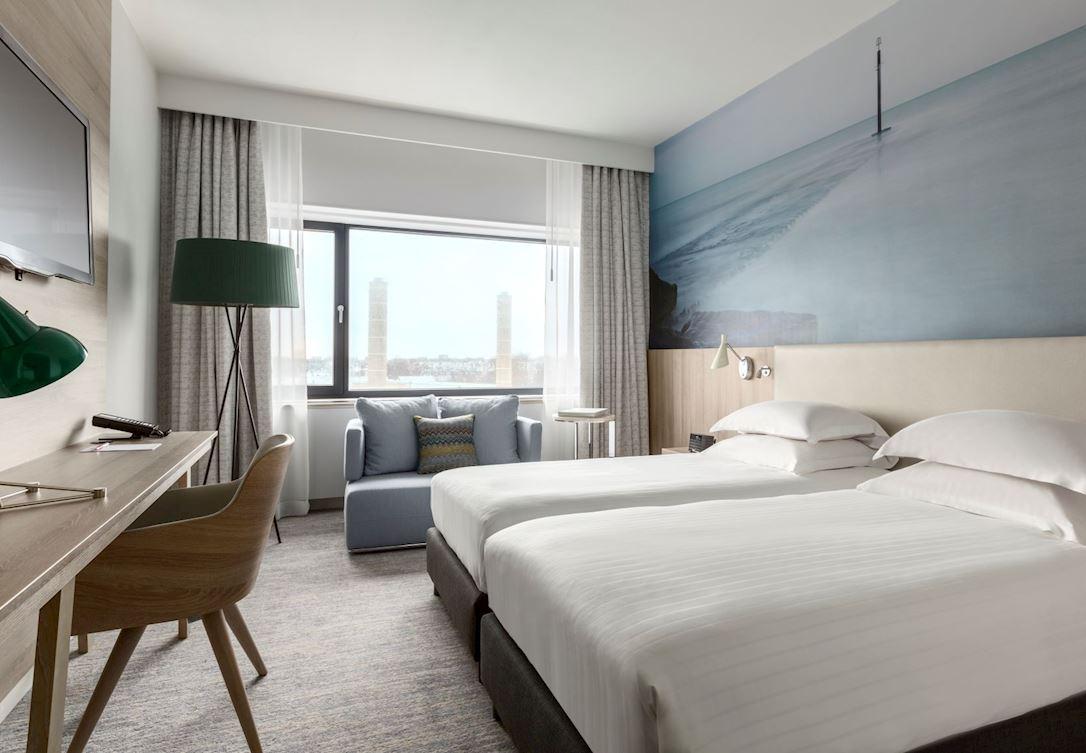 Gasten kunnen genieten van onze stijlvolle kamers.
